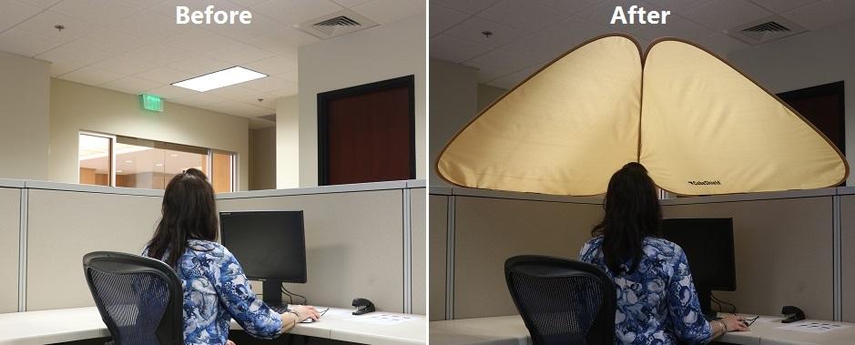 Cubicle Overhead Light Shade Gnubies Org